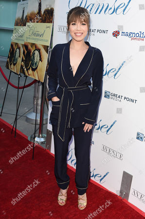 Editorial photo of 'Damsel' film premiere, Arrivals, Los Angeles, USA - 13 Jun 2018