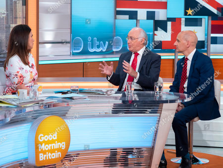 Susanna Reid with Michael Howard and Lord Adonis