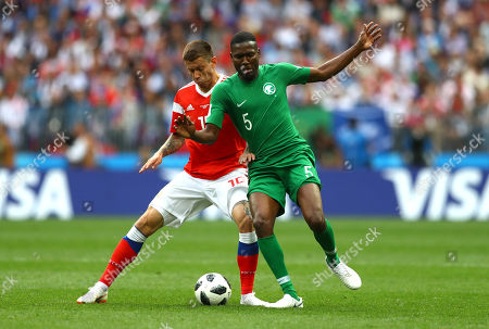 Editorial picture of Russia v Saudi Arabia, Group A, 2018 FIFA World Cup football match, Luzhniki Stadium, Moscow, Russia - 14 Jun 2018