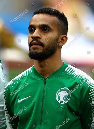 Stock Picture of Mohammed Al-Breik of Saudi Arabia