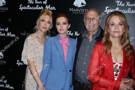 Madelyn Deutch, Zoey Deutch, Howard Deutch and Lea Thompson
