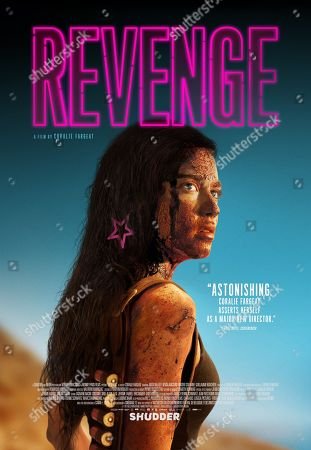 Revenge (2017) Poster Art. Matilda Lutz