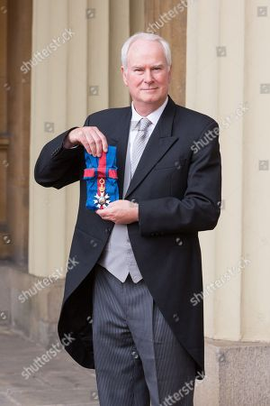 Stock Image of Sir Mark Lyall Grant with Knight Grand Cross