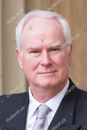 Stock Picture of Sir Mark Lyall Grant with Knight Grand Cross