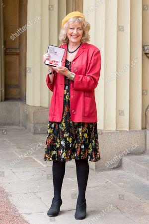 Stock Photo of Deborah Moggach with OBE