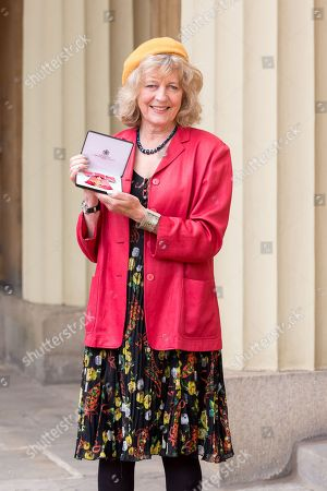 Stock Picture of Deborah Moggach with OBE