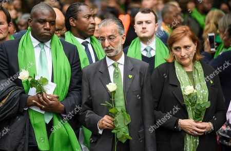 Editorial photo of Grenfell Tower fire anniversary, London, UK - 14 Jun 2018