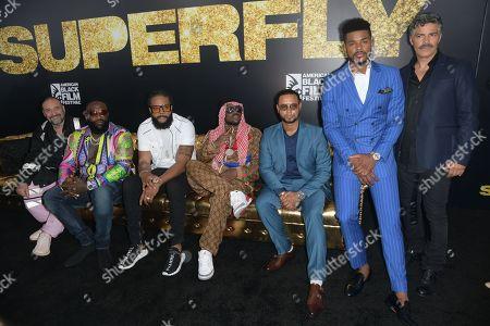 Editorial photo of 'SuperFly' film screening, American Black Film Festival, Miami Beach, USA - 13 Jun 2018