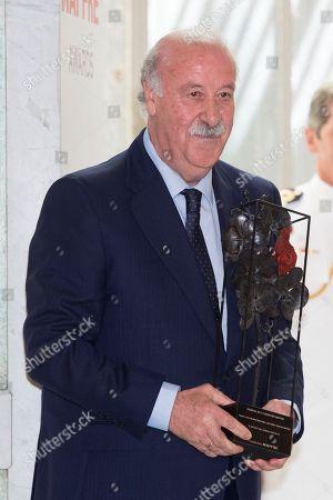 Ex-coach and former Spanish footballer Vicente del Bosque.