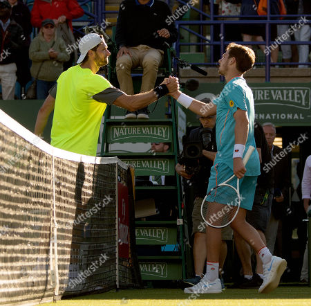 Cameron Norrie and Daniel Brands