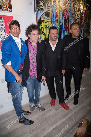 Andres Calamardo, Domingo Zapata, Jose Maria Manzanares