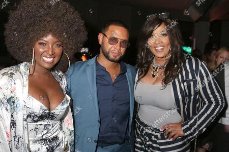 Amara La Negra, Director X and Kym Whitley