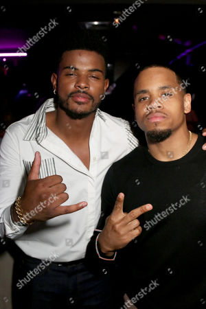 Trevor Jackson and Tristan Wilds