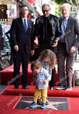 Editorial photo of Jeff Goldblum Honored with a Star on the Hollywood Walk of Fame, Los Angeles, USA - 14 Jun 2018
