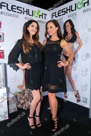 International adult stars Lisa Ann and Jenna Haze