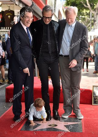 Editorial image of Jeff Goldblum Honored with a Star on the Hollywood Walk of Fame, Los Angeles, USA - 14 Jun 2018