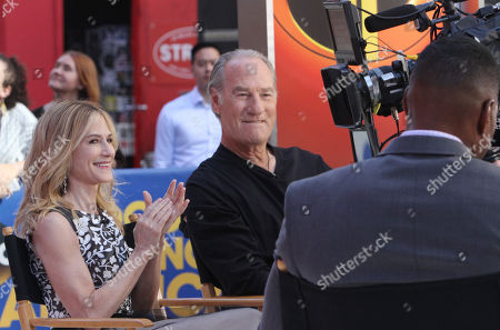 Stock Image of Holly Hunter and Craig T Nelson