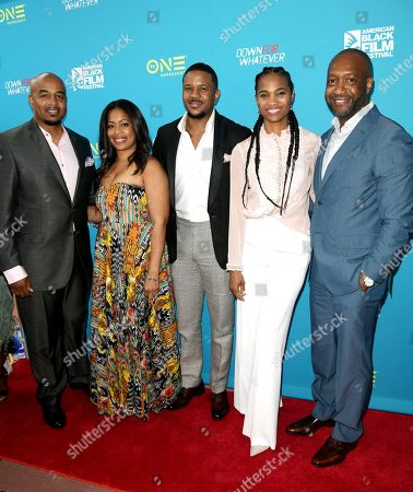 Timothy Wayne Folsome, Michelle Rice, Hosea Chanchez, Nicole Friday and Jeff Friday