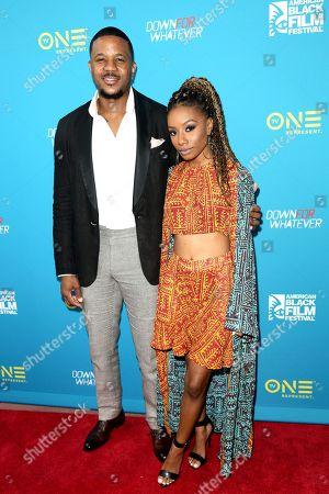 Editorial photo of 'Down for Whatever' film screening, Arrivals, 22nd American Black Film Festival, Miami Beach, USA - 14 Jun 2018