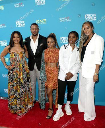 Editorial picture of 'Down for Whatever' film screening, Arrivals, 22nd American Black Film Festival, Miami Beach, USA - 14 Jun 2018