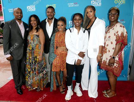 Editorial image of 'Down for Whatever' film screening, Arrivals, 22nd American Black Film Festival, Miami Beach, USA - 14 Jun 2018