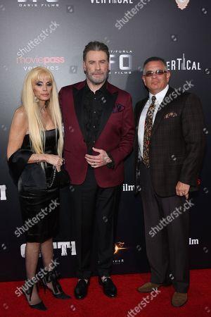 Victoria Gotti, John Travolta and John A Gotti
