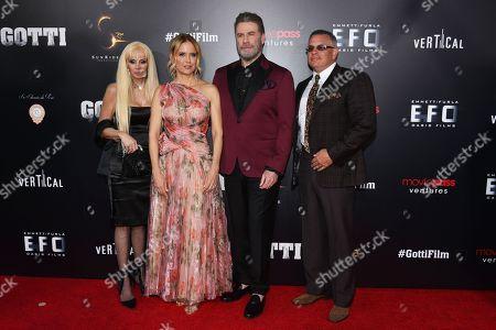 Victoria Gotti, Kelly Preston, John Travolta and John A Gotti