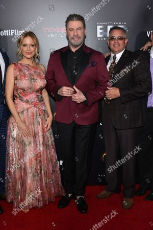 Kelly Preston, John Travolta and John A Gotti