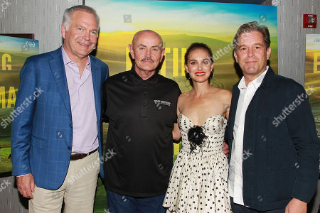 Jonathan Sehring, Frank Reese, Natalie Portman and Christopher Quinn