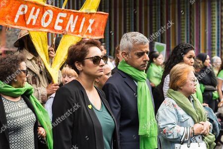 Editorial photo of Grenfell Tower Anniversary, London, UK - 14 Jun 2018