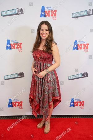 """Stock Image of Chilina Kennedy attends a special screening of """"Ann"""" at the Elinor Bunin Munroe Film Center, in New York"""