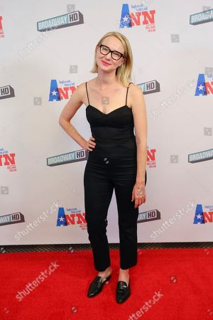 "Stock Photo of Halley Feiffer attends a special screening of ""Ann"" at the Elinor Bunin Munroe Film Center, in New York"