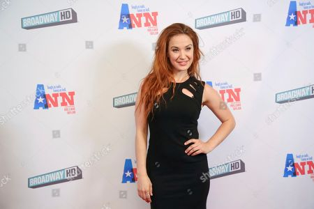 """Sierra Boggess attends a special screening of """"Ann"""" at the Elinor Bunin Munroe Film Center, in New York"""