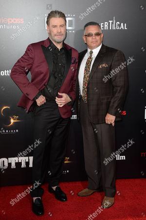 Stock Image of John Travolta, John A Gotti