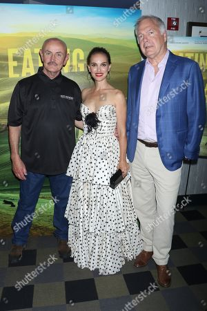 Frank Reese, Natalie Portman and Jonathan Sehring