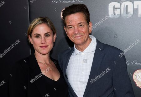 """Frank Whaley, Heather Bucha. Heather Bucha and Frank Whaley attend the premiere of """"Gotti"""" at the SVA Theatre, in New York"""
