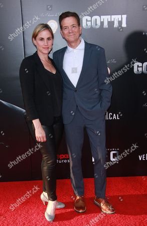 Stock Picture of Heather Bucha and Frank Whaley