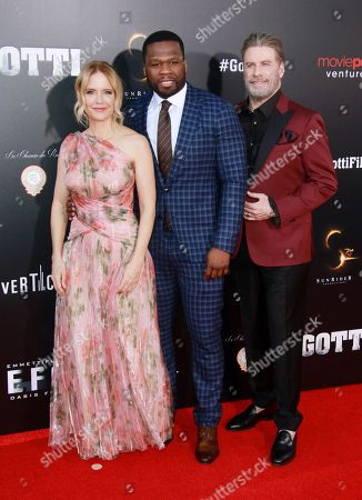 Kelly Preston, 50 Cent, John Travolta