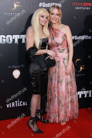 Victoria Gotti, Kelly Preston