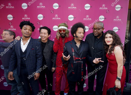 Jermaine Fowler, Steven Yeun, Lakeith Stanfield, Boots Riley, Director/Writer/Composer, Forest Whitaker, Producer/Actor, Kate Berlant