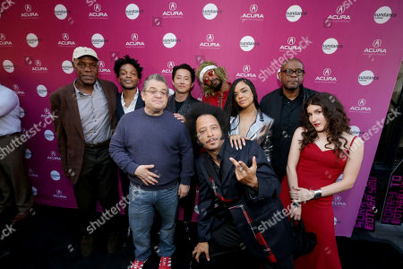 Stock Picture of Danny Glover, Patton Oswalt, Jermaine Fowler, Steven Yeun, Boots Riley, Director/Writer/Composer, Lakeith Stanfield, Tessa Thompson, Forest Whitaker, Producer/Actor, Kate Berlant