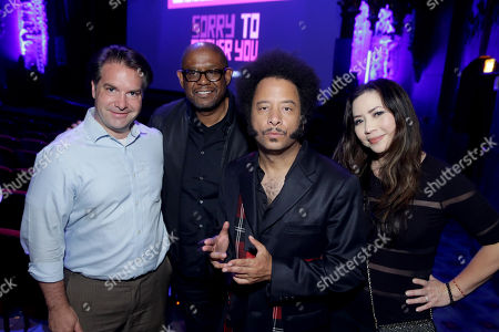 George Rush, Producer, Forest Whitaker, Producer/Actor, Boots Riley, Director/Writer/Composer, Nina Yang Bongiovi, Producer