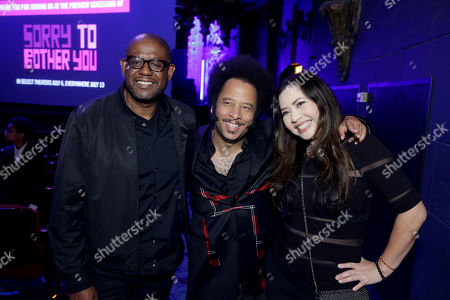 Forest Whitaker, Producer/Actor, Boots Riley, Director/Writer/Composer, Nina Yang Bongiovi, Producer