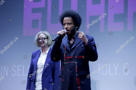 Editorial photo of 'Sorry to Bother You' film screening, Los Angeles, USA - 14 Jun 2018