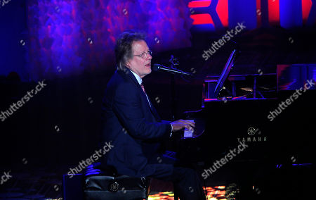 Steve Dorff performs onstage during the 49th annual Songwriters Hall of Fame Induction and Awards gala at the New York Marriott Marquis Hotel, in New York
