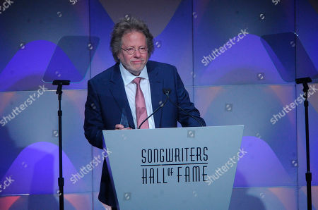 Steve Dorff speaks onstage during the 49th annual Songwriters Hall of Fame Induction and Awards gala at the New York Marriott Marquis Hotel, in New York
