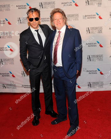 Stephen Dorff, Steve Dorff. Stephen Dorff and Steve Dorff arrive during the 49th annual Songwriters Hall of Fame Induction and Awards gala at the New York Marriott Marquis Hotel, in New York