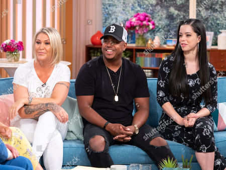 S Club - Jo O'Meara, Bradley McIntosh and Tina Barrett