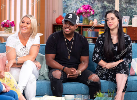 Stock Photo of S Club - Jo O'Meara, Bradley McIntosh and Tina Barrett