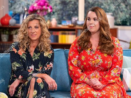 Sally Gunnell and Harriet Shearsmith
